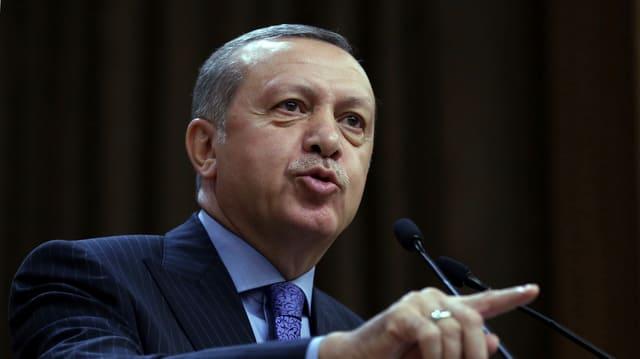 Purtret d'Erdogan.