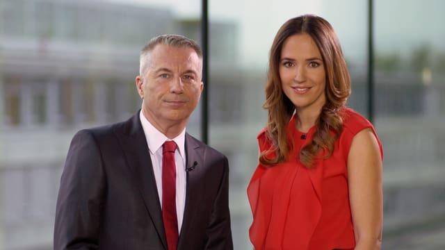 Reto Lipp und Patrizia Laeri