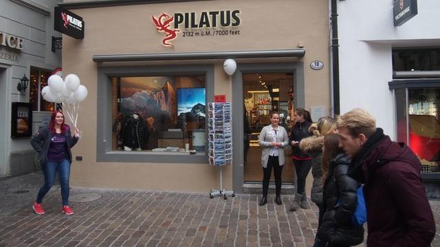 Geschäft in der Luzerner Altstadt