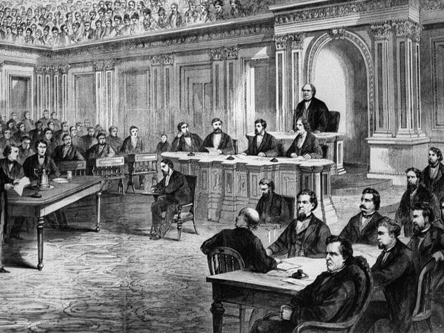 Impeachment gegen Johnson.