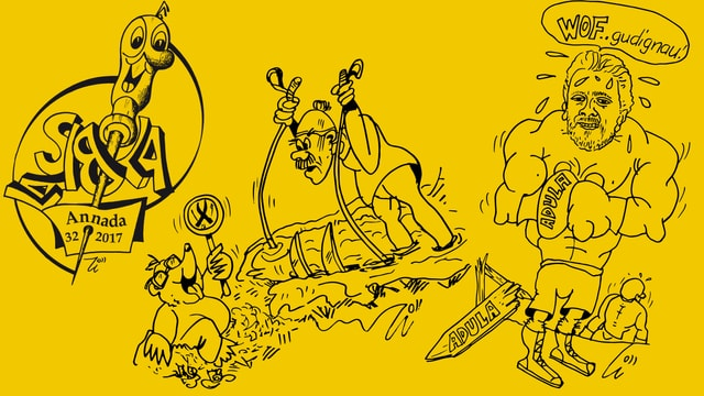 Caricaturas.
