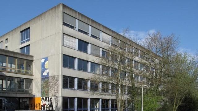 Ansicht des Gymnasium Bäumlihof.