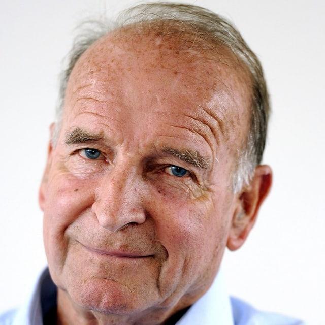 Peter Arbenz in einer Porträtaufnahme