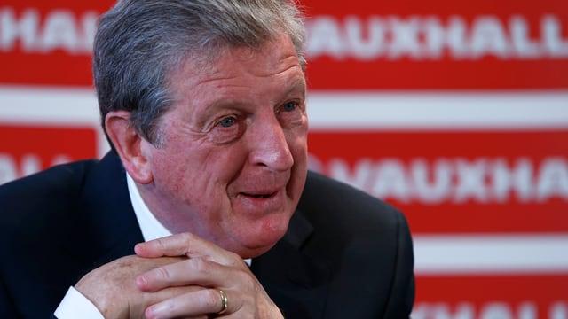 Englands National-Trainer Roy Hodgson.