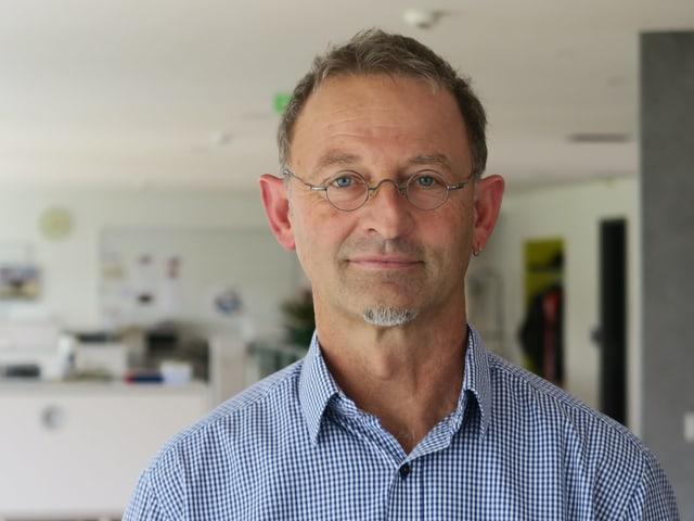 Der Obwaldner Nationalratskandidat Peter Krummenacher.
