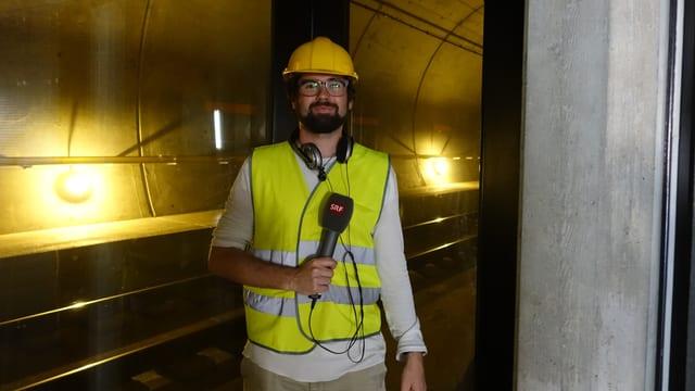 Reporter Fabio Flepp auf Spurensuche