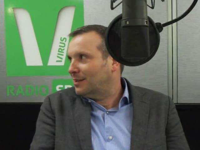 Stefano Semeria ist Programmleiter TV bei SRF.
