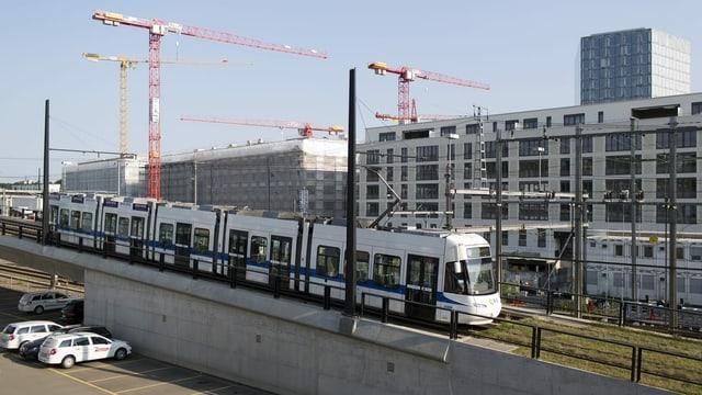 Tram durch Zürich