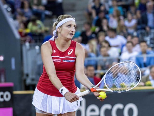 Timea Bacsinszky ist beim WTA-Turnier von Rabat nicht angetreten.