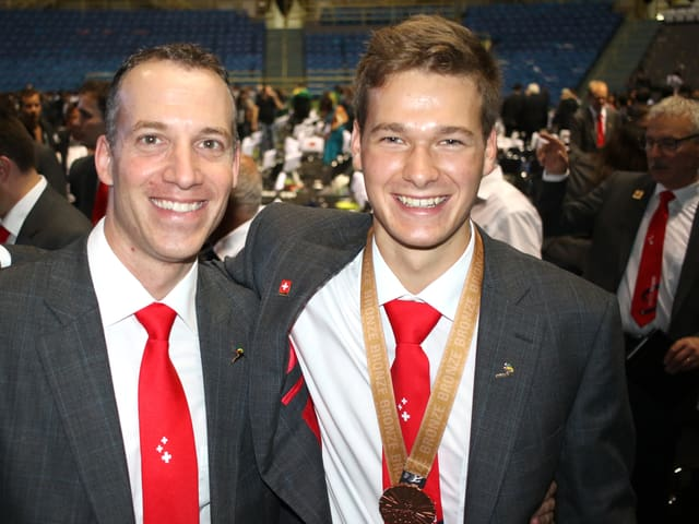 Roger Dähler und Mike Brunner