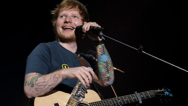 Ed Sheeran im Hallenstadion Zürich.
