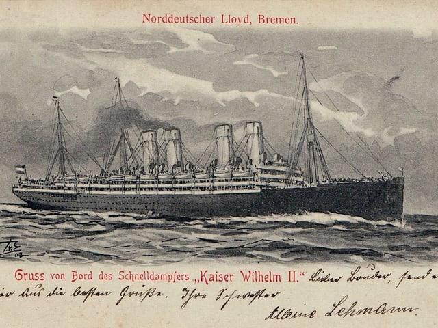 Bastiment, Kaiser Wilhelm 2