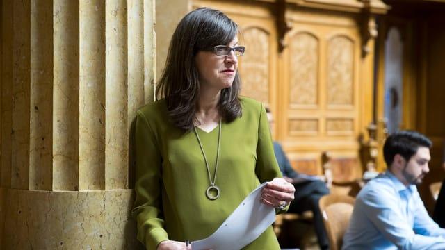 SP-Nationalrätin Silvia Schenker