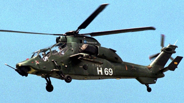 Helicopter militar.