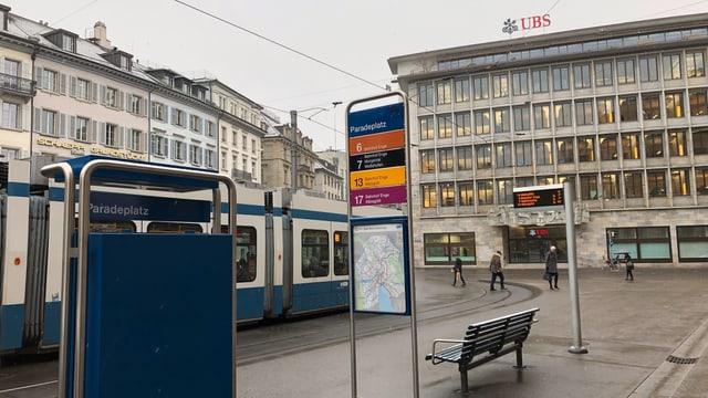Die UBS am Paradeplatz
