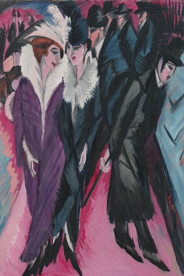 Die Strasse, 1913.