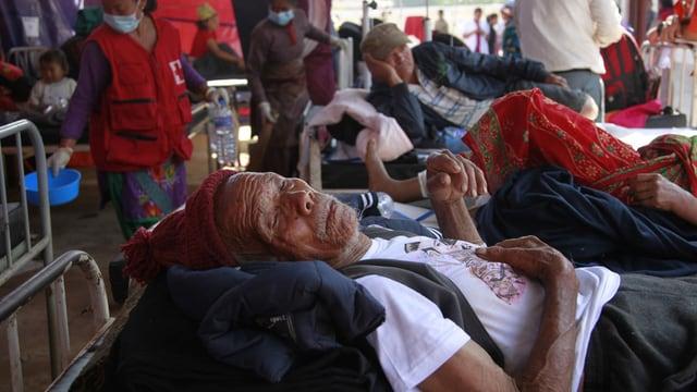 pazients en il nepal