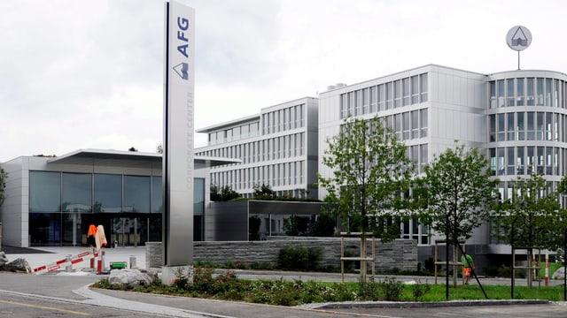 Das Gebäude der AFG Holding
