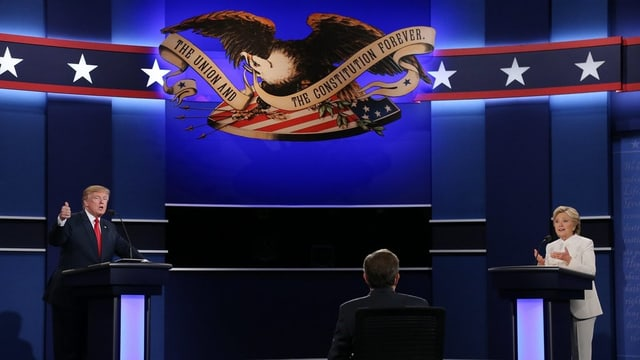 Donald Trump e Hillary Clinton - tgi vegn nov president?
