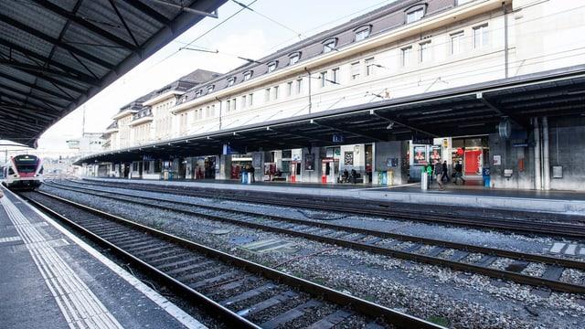 Bahnhof in Lausanne