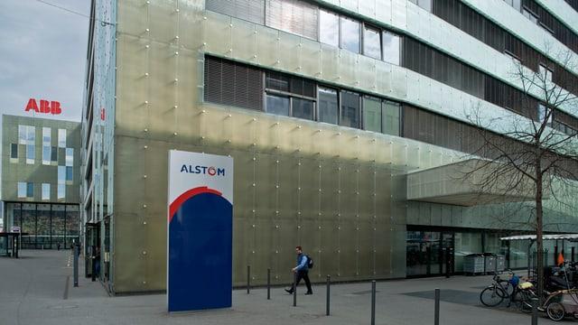 Alstom-Firmensitz in Baden