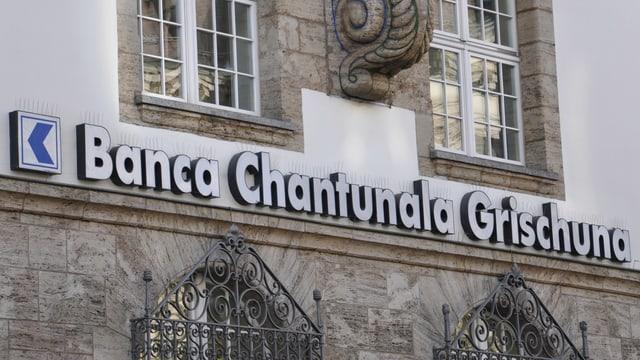 Logo da la banca chantunala Grischuna