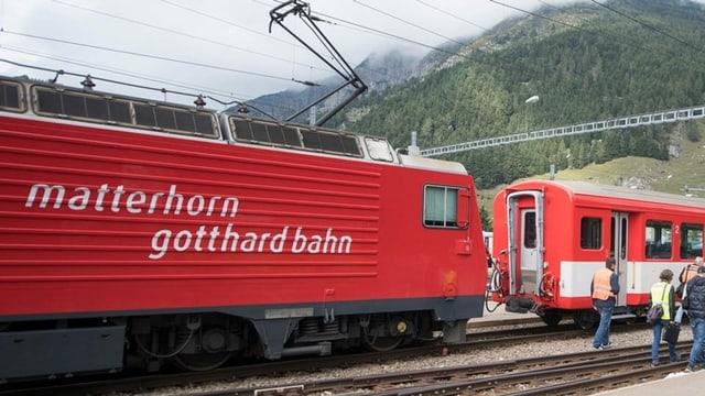 Tren da la matterhorn gotthard bahn