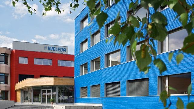 Hauptgebäude Weleda