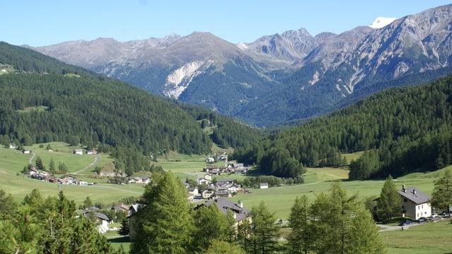 Purtret da la Val Müstair.