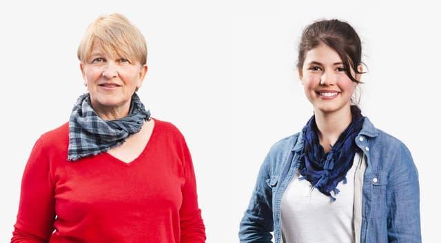 Porträt von Rosemarie Jenni-Dietsche und Lisa-Maria D'Ercole