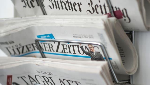La «Neue Luzerner Zeitung» tutga tar quellas gasettas ch'han dentant gudagnà il davos temp abunaments.