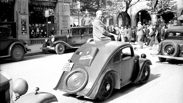 Zu sehen der VW-Typ Standard Superior.