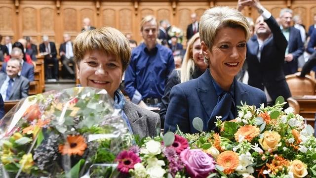 Viola Amherd e Karin Keller-Sutter