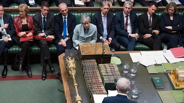 La primministra Theresa May ha incassà in'ulteriura terrada en connex cun la votaziun davart il Brexit.