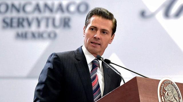 Präsident Enrique Peña Nieto.