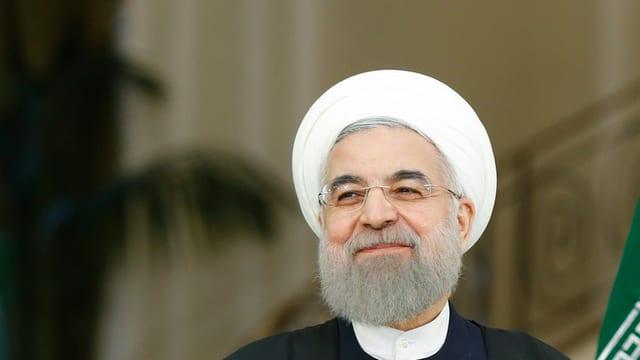 Hassan Ruhani – Nov e vegl president da l'Iran.