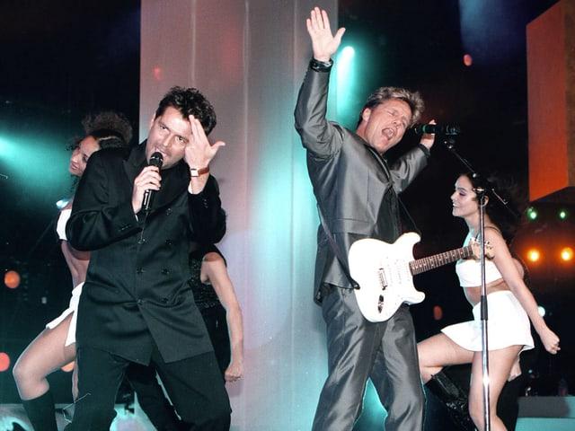 Tomas Anders (links) und Dieter Bohlen