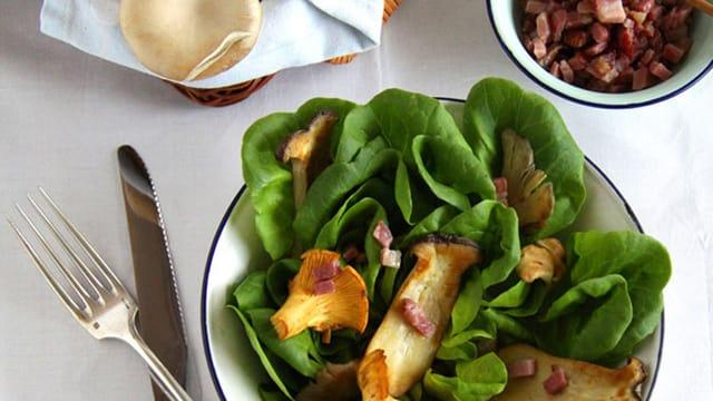 Vorspeise: Herbstsalat