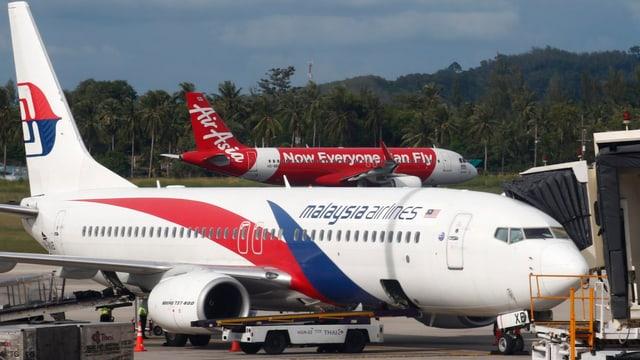 Ein Flugzeug der Malaysia Airlines.