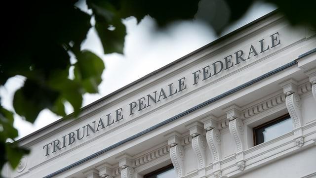 La chasa dal Tribunal penal federal a Bellinzona.
