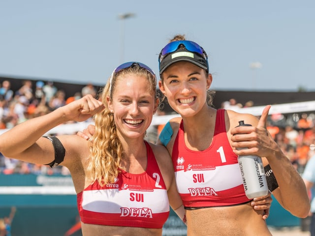 Nina Betschart (links) und Tanja Hüberli.