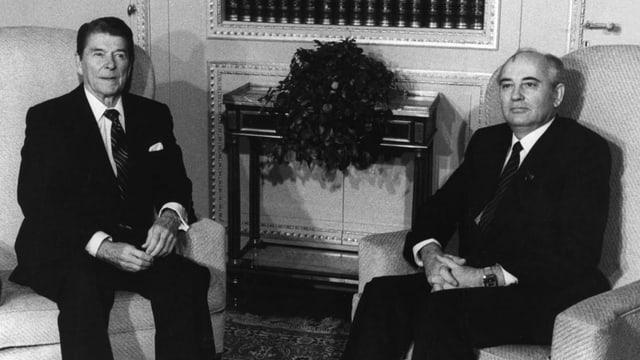 1985: Reagan und Gorbatschow in Genf