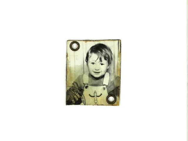 Passfoto von Christina Lang als Kind.