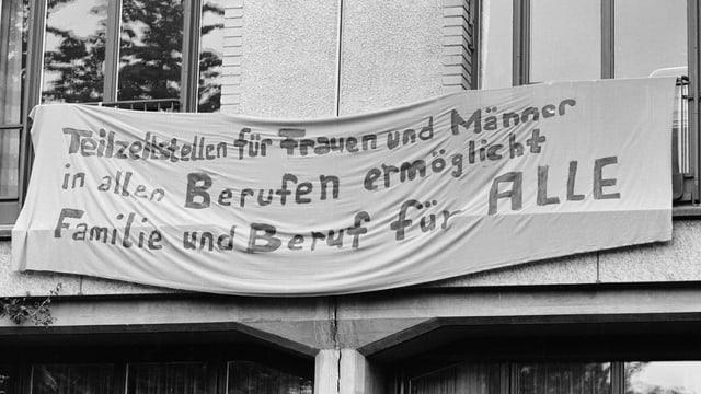 Plakat vom Frauenstreiktag 1991
