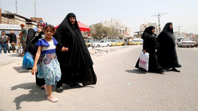 Strassenszene in Basra