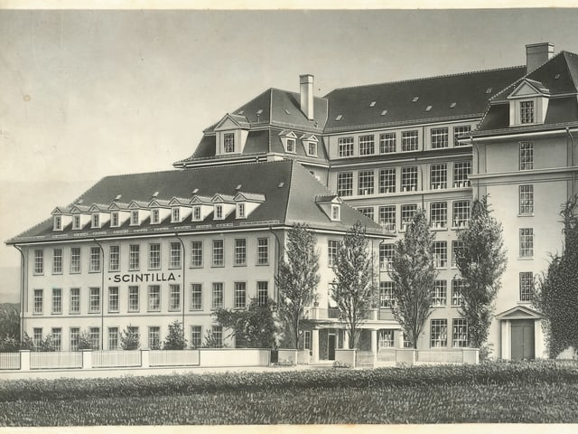 Schwarz-weiss Postkarte.