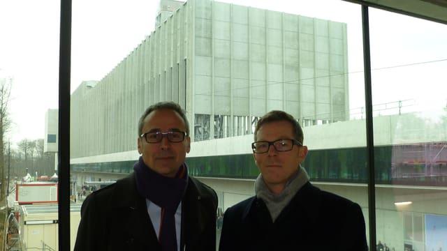 Foto der beiden Architekten.