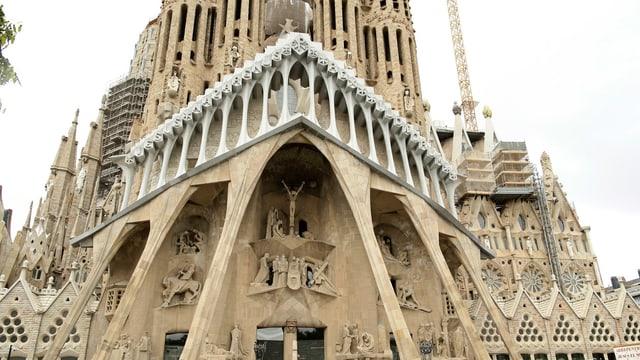 baselgia Sagrada Familia a Barcelona