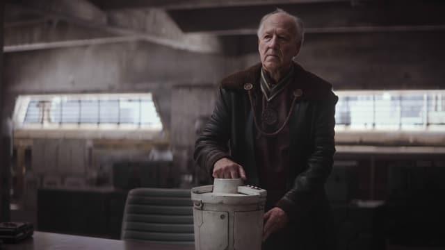 Der Regisseur und Schauspieler Werner Herzog bei «The Mandalorian»