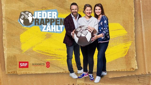 Die drei #JRZ-Moderatoren: Nik Hartmann, Anic Lautenschlager und Judith Wernli